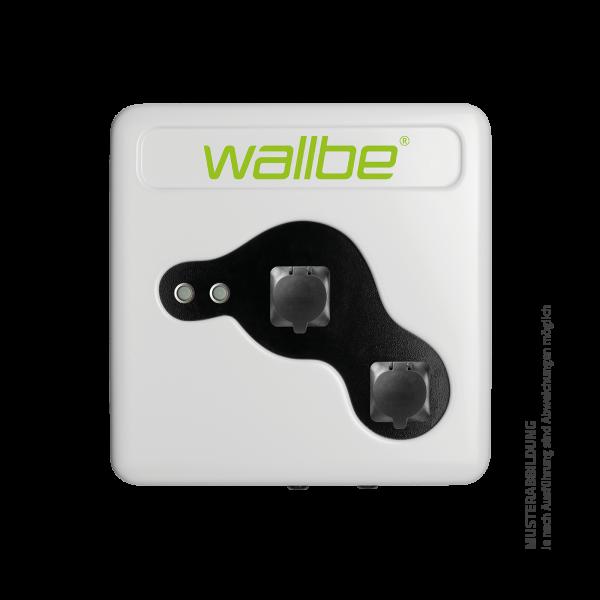 wallbe Pro Plus Wallbox 2x 22kW Online M2M