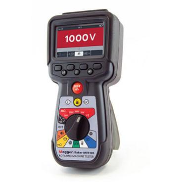 MTR105 Tester für rotierende Maschinen