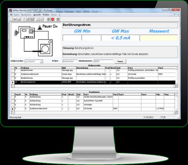 Datenbanksoftware Safety-Remote/A3-S Remote