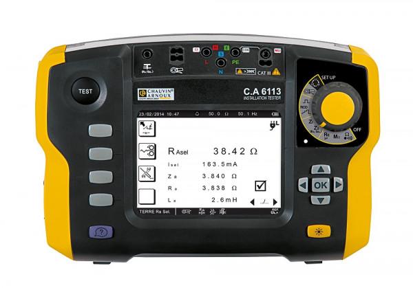 C.A 6113 Installationstester