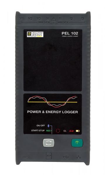 PEL 102 Leistungs- und Energierecorder ohne Stromwandler