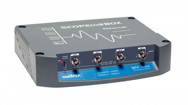 "MTX 1054 - Dig. Oszilloskop ""Scope in@box"" - 4x150 MHz, Rack"