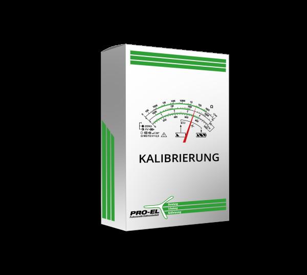 Metrel Kalibrierung