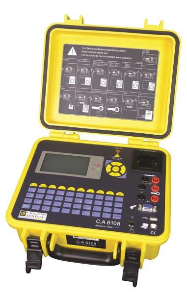 C.A 6108 Gerätetester (inkl. 10A + Med)