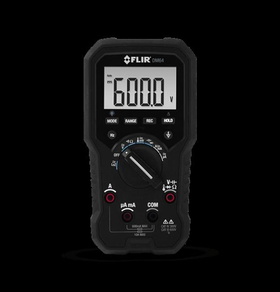 FLIR DM64 TRMS-Digital-Multimeter für HLK-Anwendungen
