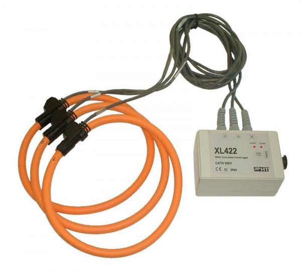 Drreiphasen Datenlogger Strom XL422