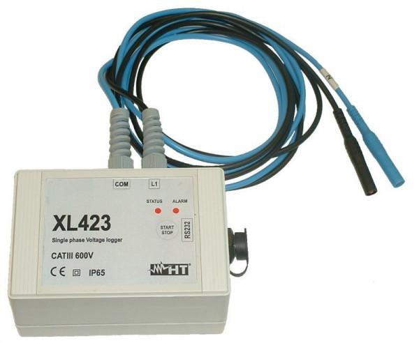 Einphasen Datenlogger Spannung XL423