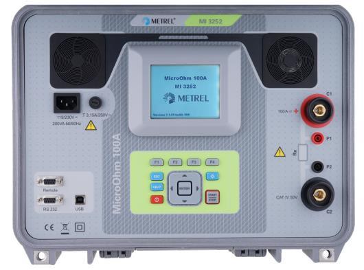 MI3252 MicroOhm 100A