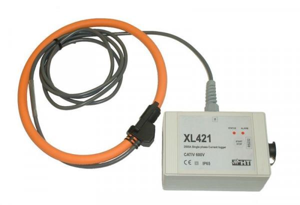 Einphasen Datenlogger Strom XL421
