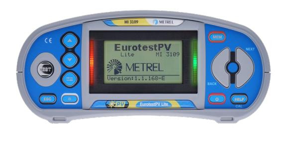 MI3109PS EurotestPV Lite Pro Set