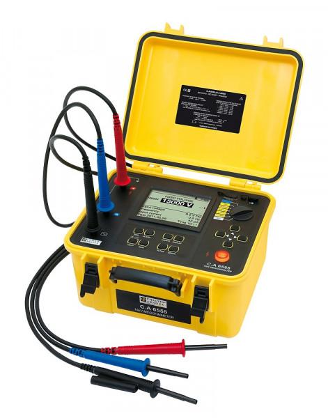 C.A 6555 Isolationsmesser 15 kV
