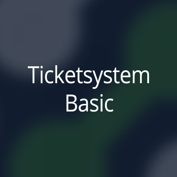 Ticketsystem Basic Paket für 12 Monate