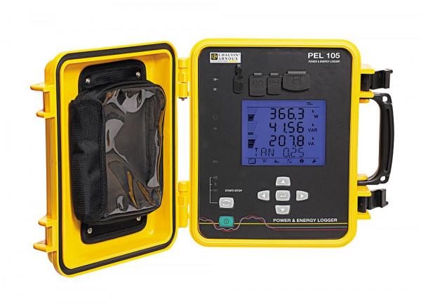 PEL 105 Leistungs- und Energierecorder (inkl. 4 Ampflex A196A)