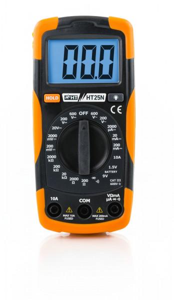Kompaktes Multimeter HT25N