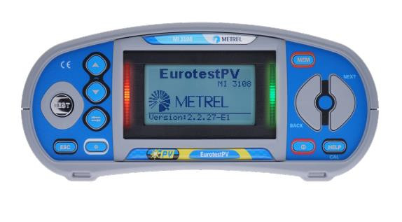 MI3108PS EurotestPV Profi Set