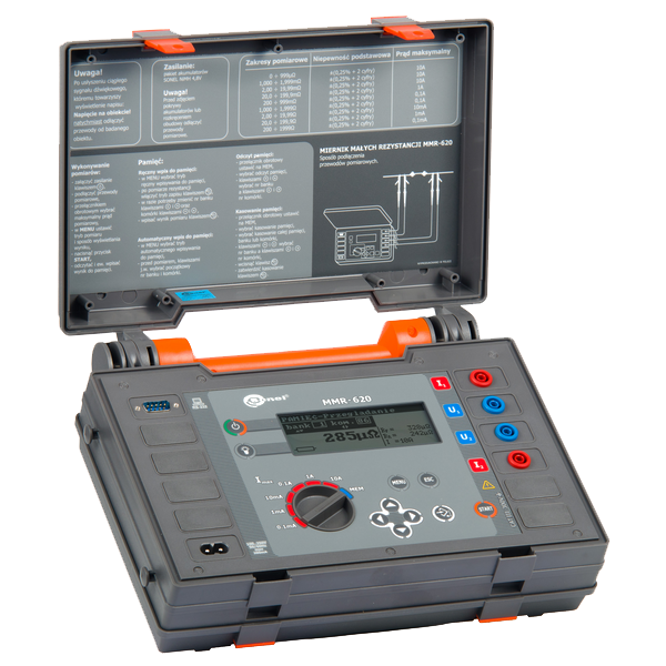 Mikroohmmeter MMR-620