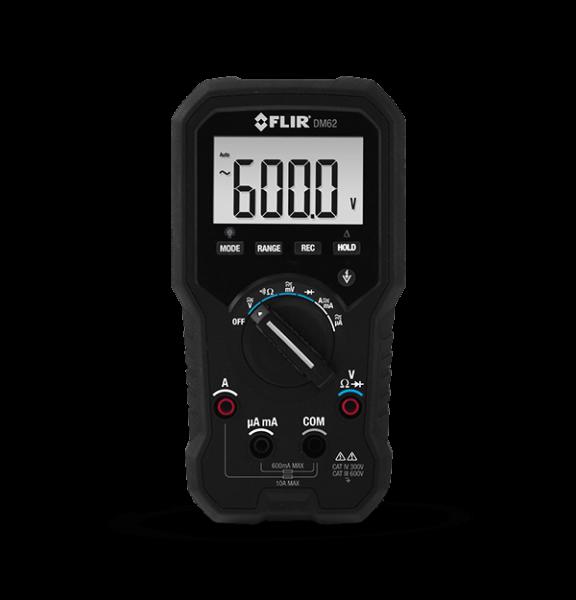 FLIR DM62 TRMS-Digital-Multimeter mit berührungslosem Spannungsprüfer