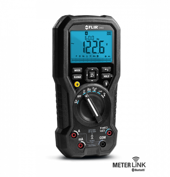 FLIR DM92 TRMS-Multimeter für industrielle Anwendungen