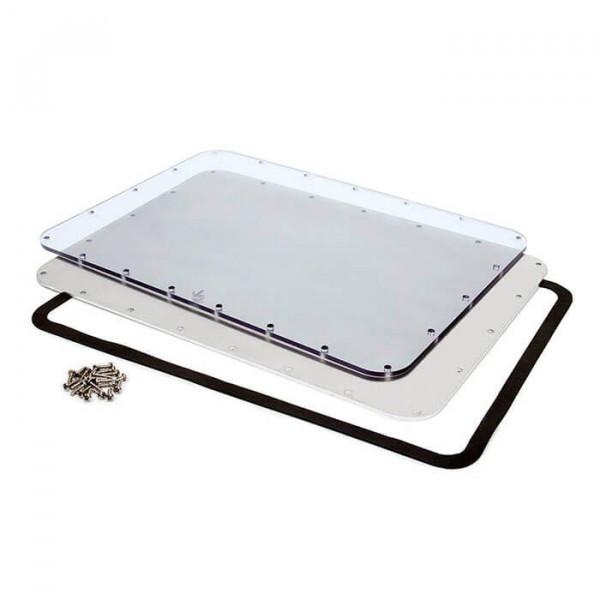 Aluminium/Lexan Plattenbausätze
