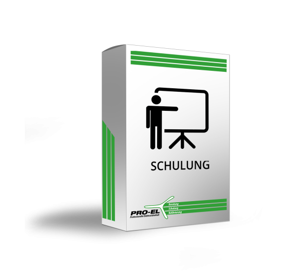 Softwareeinweisung durch PRO-EL (Webinar 60min)