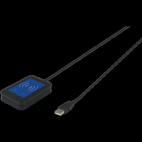 Transponderscanner 125kHz / 13,56MHz USB