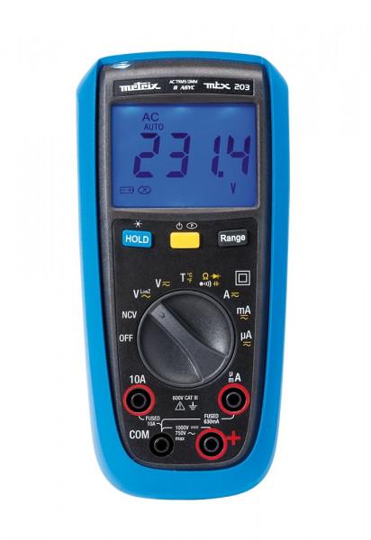 MTX 203 Digitalmultimeter