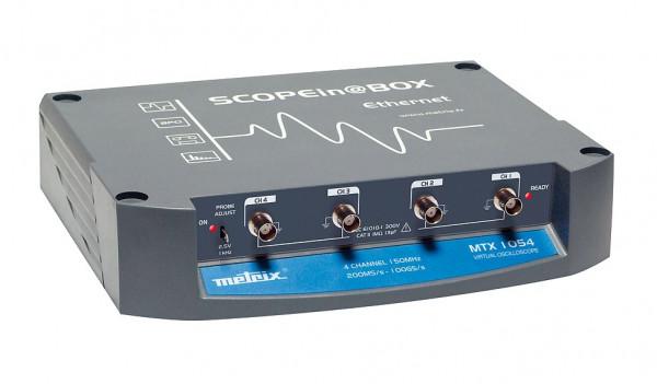 "MTX 1054 - Dig. Oszilloskop ""Scope in@box"" - 4x150 MHz, Wifi"