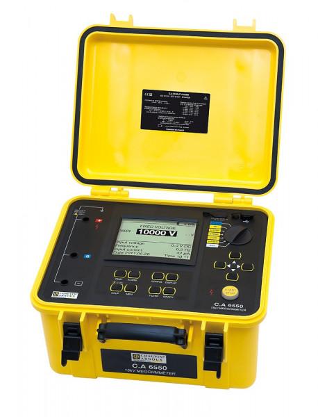 C.A 6550 Isolationsmesser 10 kV