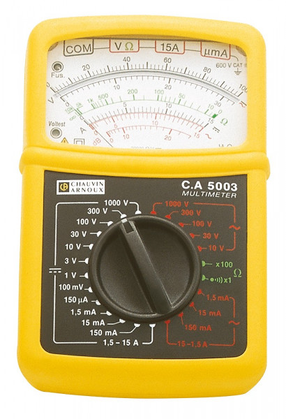 C.A 5003 Analog-Multimeter mit Transportkoffer