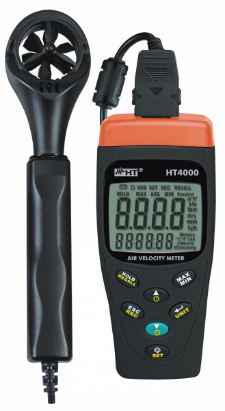 Thermo-Anemometer HT4000