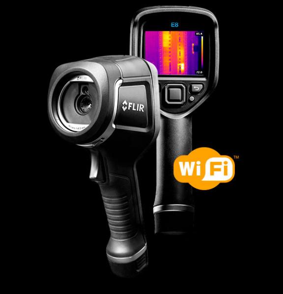 FLIR E8-XT INFRAROTKAMERA MIT MSX® UND WLAN