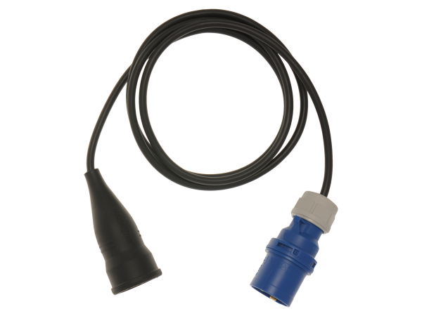 Einphasenadapter 16 A, 3-poliger Stecker