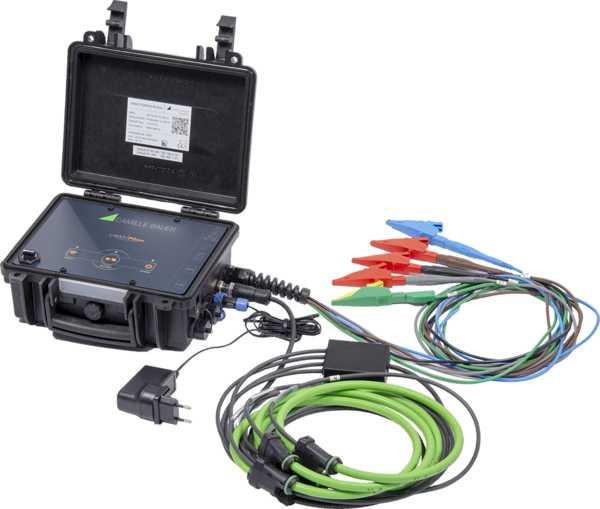 Dreiphasiger mobiler Energie- und Netzstöranalysator LINAX PQ5000-Mobile