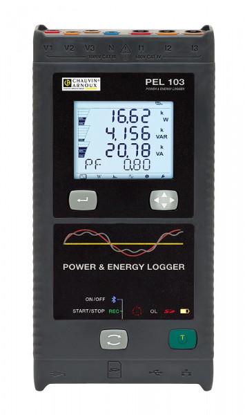 PEL 103 Leistungs- und Energierecorder ohne Stromwandler