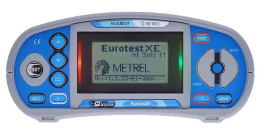 MI3102BT EurotestXE BT