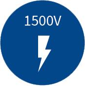 Option 1500V DC für 1ST/3CL/3HD
