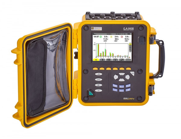 C.A 8436 Leistungs- und Energieanalysator