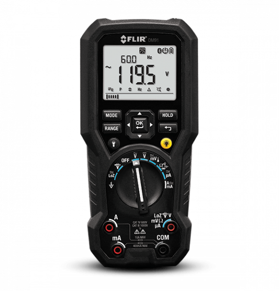 FLIR DM91 Industrietaugliches TRMS-Multimeter