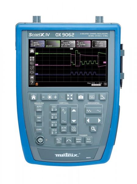 OX 9062 Tragbares Oszilloskop 2 x 60 MHz