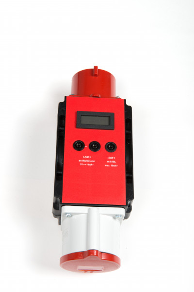 Aktiver Differenzstromadapter CEE Test 16A