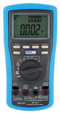 MD9070 Digital Multimeter für Isolations-/ Durchgangsprüfung