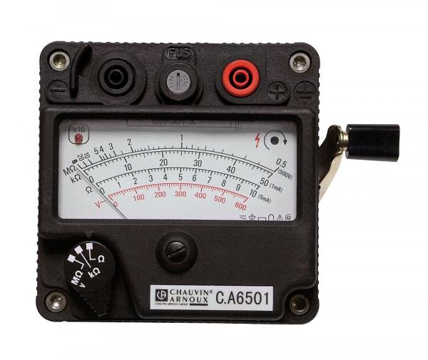 C.A 6501 Isolationsmesser mit Kurbelinduktor