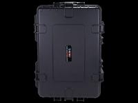 Wassergeschützter Outdoor-Koffer mit Teleskopgriff und Softrollen