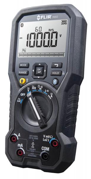 FLIR DM93 TRMS-Multimeter für industrielle Anwendungen